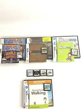 LOT OF 8 NINTENDO DS GAMES, 4 CIB 4 Game Only . Harlem Basketball Metro Prime