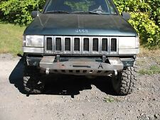 1993-98 Jeep Grand Cherokee ZJ Shorty Winch Plain Front Bumper
