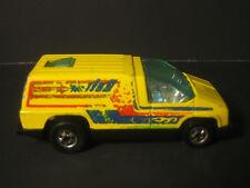 (B) 1979 Mattel Hot Wheels Inside Story, Yellow, Blackwalls