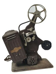 VINTAGE KEYSTONE 16MM FILM MOVIE PROJECTOR ANTIQUE COLLECTIBLE INDUSTRIAL DECOR