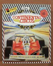 Commodore 64 Continental Circus C64 disk raro gioco