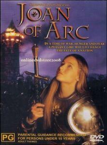 JOAN of ARC DVD - 1999 TV MINI SERIES - Leelee SOBIESKI - RARE - REGION 4