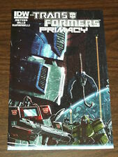 TRANSFORMERS PRIMACY #1 IDW COMICS