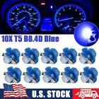 10x Blue For Dodge Ram B8.4d Led Instrument Panel Dash Gauge Cluster Light Bulbs
