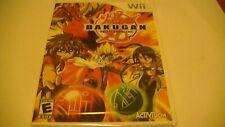 Bakugan Battle Brawlers Game For Nintendo Wii *NTSC*