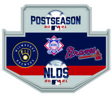 2021 Nlds Divisional Dueling Broche Atlanta Braves V Milwaukee Brewers Series