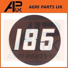 Massey Ferguson 185 Tractor lado Bonnet Insignia Medallón Emblema Decal Sticker