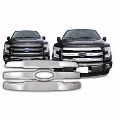 FREE SHIPPING: 2015-2017 Ford F150 Chrome Snap On Grille Overlay #134
