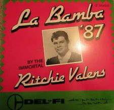 "Ritchie Valens : La Bamba '87 12"" Single 33 1/3 1987 Record"