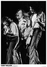 Van Halen Live 1979 Rotterdam Poster - Wrapped