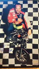 PETTY KYLE MOTORCYCLE AUTOGRAPHED UPPER DECK W/ CERTIFICATE OF AUTHENTICITY NEW