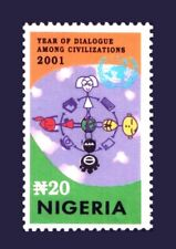 NIGERIA  2001 DIALOGUE AMONG CIVILIZATIONS JOINT ISSUE MNH