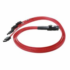 10Gbps SAS 4i SFF-8087 36-Pin to 4 SATA 7-Pin HDD Hard Drive Splitter Cable X9Z8