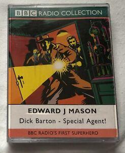 Audio Book EDWARD J MASON Dick Barton Special Agent on 2 x cass BBC Drama