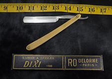 RO Dixi 1000 Delorme Paris Straight Razor Shave Ready