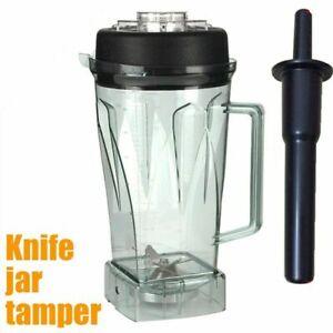 Blade Jar Container&Tamper Sets for jtc blender 010 767 800 G5200 G2001 Vitamix