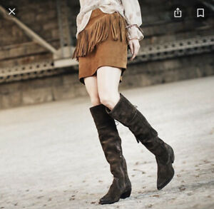 Frye Sacha Brown Over The Knee Boots size 7