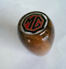 MG Midget Wooden Gearknob with MG Logo