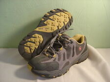 Women's SWISS GEAR Gray and Yellow Athletic Shoes Size 10