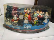 New ListingDisney Alice in Wonderland Figure Dolls Figurines Pvc Mini Small Lot Set