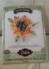 Sizzix Die Cutter 658856 CLIVIA FLOWER 5 dies Thinlits fits Big Shot