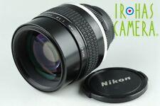 Nikon Nikkor 105mm F/1.8 Ais Lens #24256 A6