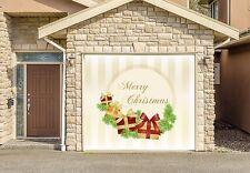 Christmas Decor Single Car Garage Door Murals Outdoor Home Decor Door Cover Gd62