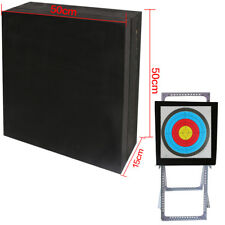 Archery Arrow Target 3D High Density Self Healing Foam THICK Portable 50x50x15cm