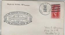 USA 1965 SHIP CANCEL USN USS HOLLAND & SHIP COVER USS CASMIR PULASKI