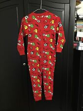 Niños Niñas Niños Angry Birds fútbol silbatos Todo en Uno Pijamas 8-9