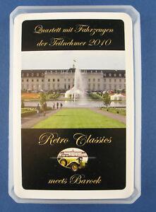 Retro Classics meet`s Barock - Quartett mit Fahrzeugen der Teilnehmer 2010 -Auto