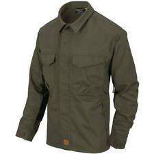 Helikon-Tex Woodsman Shirt - Taiga Green/Black Outdoor Bushcraft
