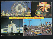 The Canadian National Exhibition Multi-view Toronto Ontario Canada 4x6 Postcard