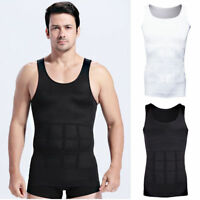 Men Shaper Body Vest Slimming Chest Belly Waist For Man Boobs Moobs COMPRESSION