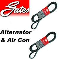 Gates Alternator & Air Conditioning Belt For SUBARU FORESTER 2.0 turbo 2.5 16v