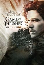 POSTER IL TRONO DI SPADE GAME OF THRONES KIT HARINGTON JON SNOW STARK #28