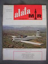 ALATA M&R # 185 - RIVISTA AERONAUTICA - NOVEMBRE 1960 - BUONO