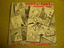 LP 10'' -25 cm NOEL NOEL-La VIE en CHANSONS-ODEON OS 1094