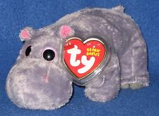 TY TUMBA the HIPPO BEANIE BABY - NEW - MINT with MINT TAGS