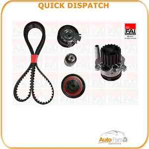 TIMING BELT KIT AND WATER PUMP FOR AUDI A6 2 09/05-06/06 212 TBK455-633532