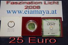 25 Euro Niob Silber Faszination Licht 2008  ----Eiamaya
