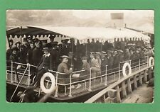 Worcester Miltary Band on board RP pc unused Empire Studio Ref F253