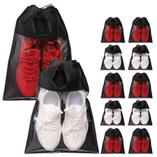 Shoe Bags for Travel Large Shoes Storage Organizer Clear Window with Drawstring
