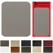 Grey Genuine Leather and Vinyl repair patch , size 3''x6''- 3 DAYS SHIPPING FREE