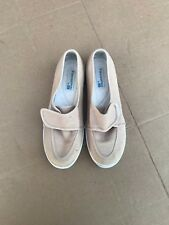 Grasshoppers by Keds Women's Beige Shoes Flats Ef 23763 Slip-On size 6M