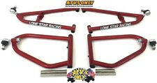 """LSR SPORT EXTENDED A-ARMS +2"""" WIDER YAMAHA RAPTOR 700 LONESTAR CANDY RED"""