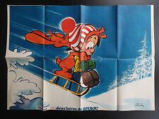 Poster Supplement Boule et Bill Du Journal Spirou N° 1864 de 1974