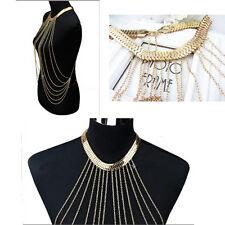 Latest Ingenious Women's Waist Bikini Beach Gold Tassel Sexy Body Chain