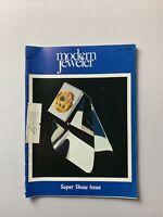 Vintage Modern Jeweler Magazine July 1975 - Jewelry, Watches Gems Diamonds