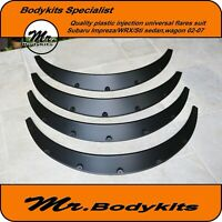 Quaity Plastic Universal Fender Guard Wheel Flare Suit Subaru Impreza/WRX 06-07